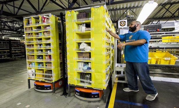 Amazon will open robotics fulfillment centers in Akron and Rossford, OH.