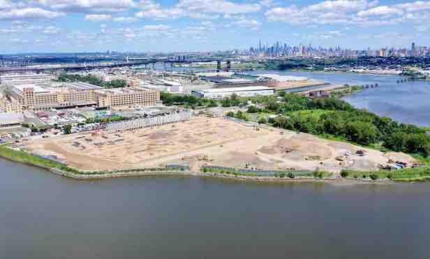 The 50 Central Ave. site in Kearny, NJ.