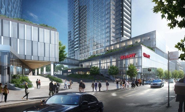 A rendering of the GIANT Food Store at Riverwalk's Tower 1 in Center City, Philadelphia. Source: Giant Food Stores, LLC.