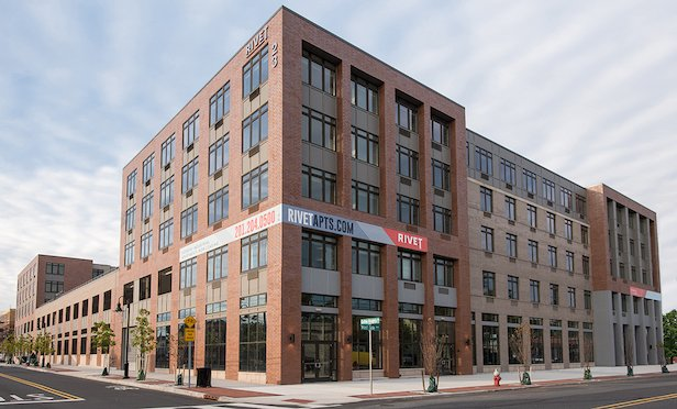 RIVET Apartments at 23 University Place Blvd. in Jersey City.