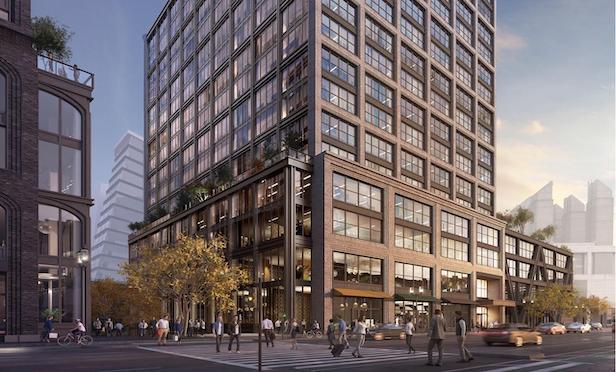A rendering of 400 Summer St. in WS Development's Boston Seaport development. Photo courtesy of WS Development.