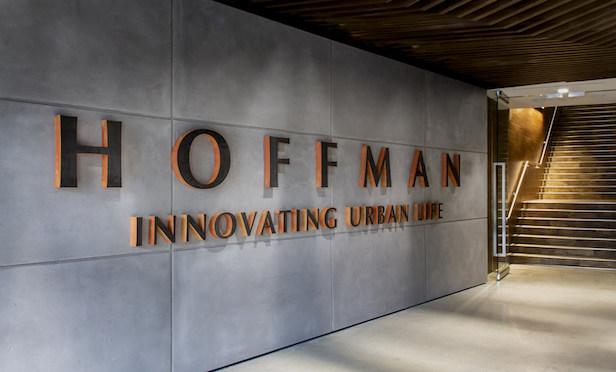 Hoffman & Associates' lobby at its Washington, DC office.