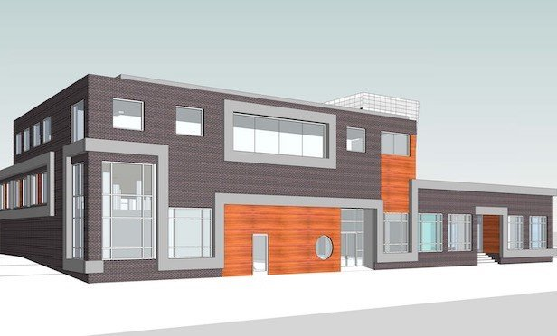 A rendering of the renovated 116 Chestnut  St. in Red Bank, NJ.