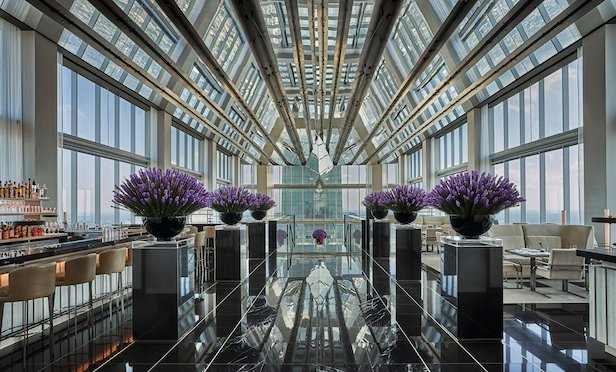 The Four Seasons Philadelphia at Comcast Center features 180 rooms and 39 suites.