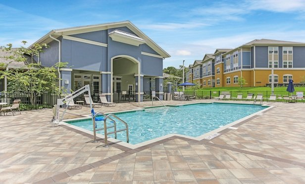 Freedom Gardens is a 190-unit affordable apartment development that is 100% leased.