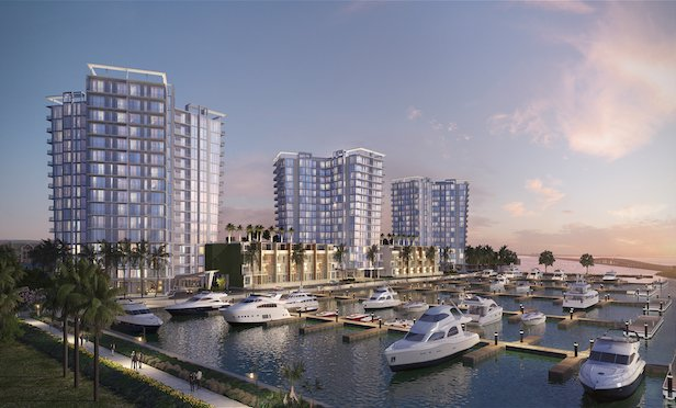 A rendering of Marina Pointe, Tampa