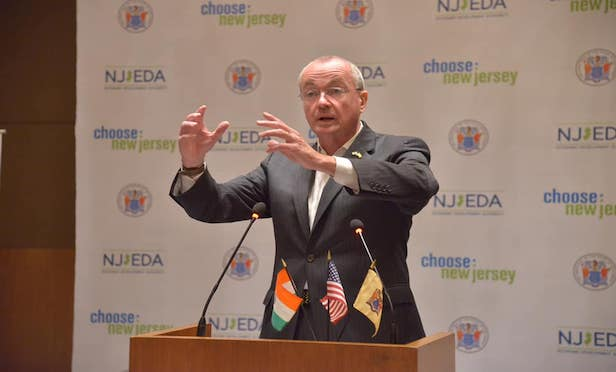 New Jersey Gov. Phil Murphy announced the opening of the Choose New Jersey India Centre in Gurugram, India.