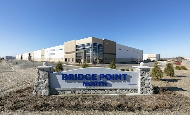 The multi-phased Bridge Point North industrial complex is located in Waukegan, IL.