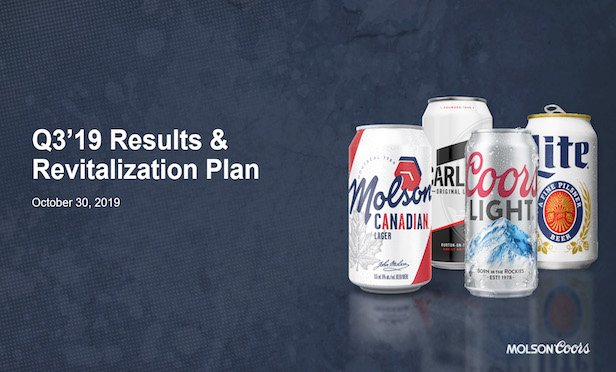 As part of its restructuring and revitalization program, Molson Coors Brewing's North American operational headquarters will be shifted to its existing Chicago offices at South Wacker Drive.