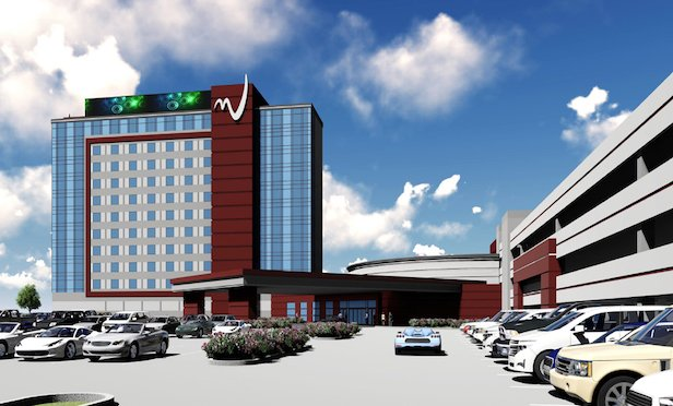 A rendering of the proposed expansion at the Miami Valley Gaming racino in Lebanon, OH.