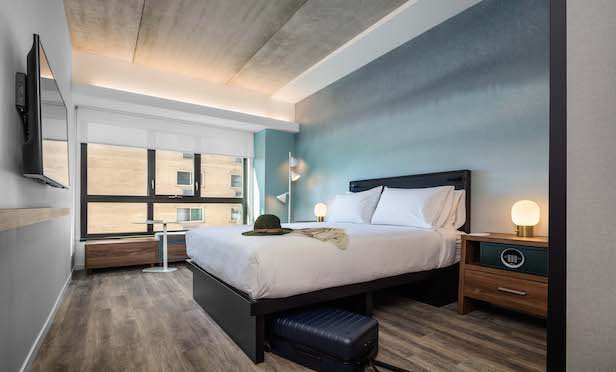 Pod Philly features 252 rooms.