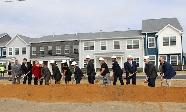 A groundbreaking ceremony was held on Monday for the nearly $21-million affordable housing project in Camden, NJ.