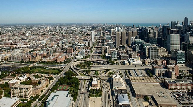 The industrial vacancy rate in the Chicago region at the end of the third quarter stood at 4.9%.