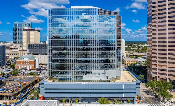 501 E. Kennedy in Tampa. WeWork is scheduled to open a facility at the property in the spring of 2020.