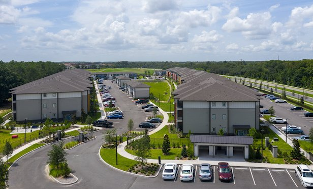 The recently rebranded 338-unit Cortland Reunion in Kissimmee, FL.