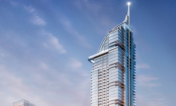 A rendering of the Legacy Hotel & Residences in Downtown Miami.