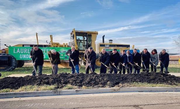 State and federal officials broke ground at a ceremony on Friday on the Business Loop 55 project in Springfield, IL.