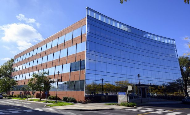 One Crescent Drive is a 76,631-square-foot office building at the Philadelphia Navy Yard.