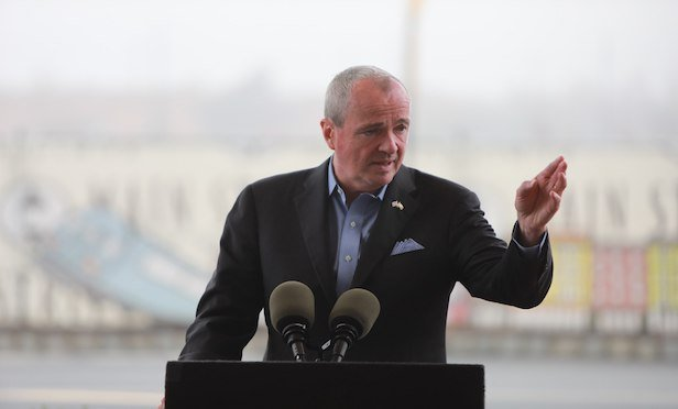 New Jersey Gov. Phil Murphy joined transit and other elected officials at a press conference on Wednesday announcing the North Brunswick Train Station MOU.