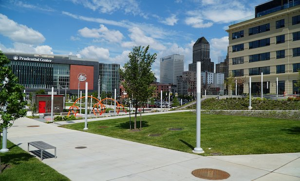 Ironside Newark is located adjacent to the Prudential Center and Newark Penn Station.
