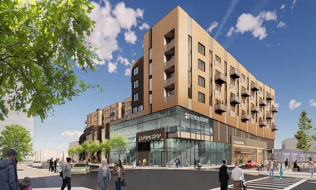 The multi-phased Allston Yards development will feature 868 housing units, including 148 income-restricted units. Source: BPDA