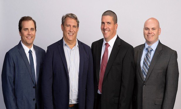 From left, Michael Lysien, Edward Kling, Keith Stewart and Peter Helland