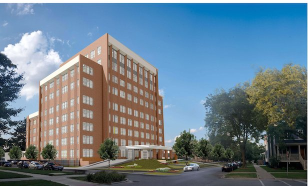 A rendering of the 193-unit Ravenswood Senior Living project in Chicago.
