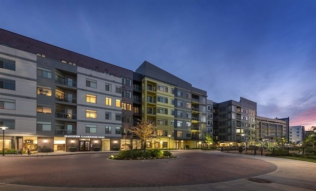 Hanover Cambridge Park features 254 units and was completed in October 2018.