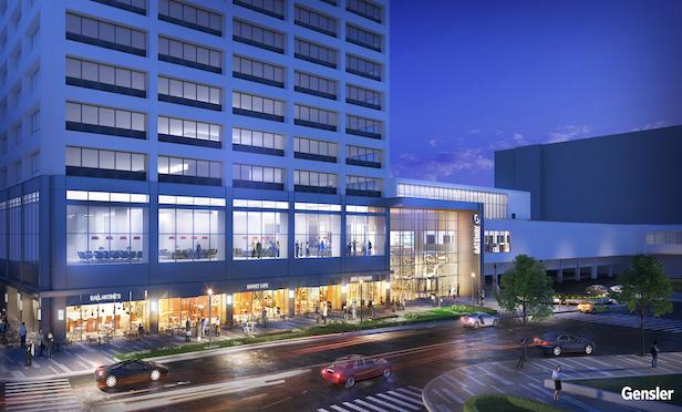 The Gateway Office complex in Newark, NJ.