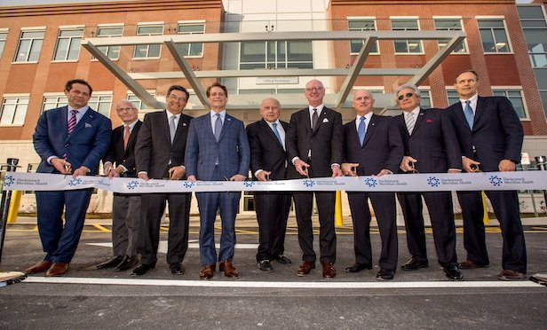 A ribbon cutting that featured chief officials from The Hampshire Companies, Circle Squared, Mountainside Medical Center and Hackensack Meridian Health was held last week.