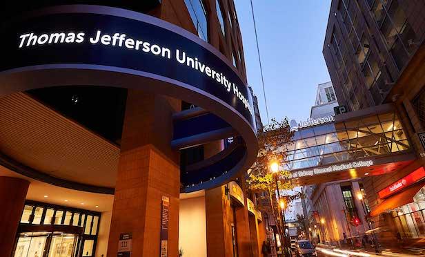Thomas Jefferson University Hospital, Philadelphia