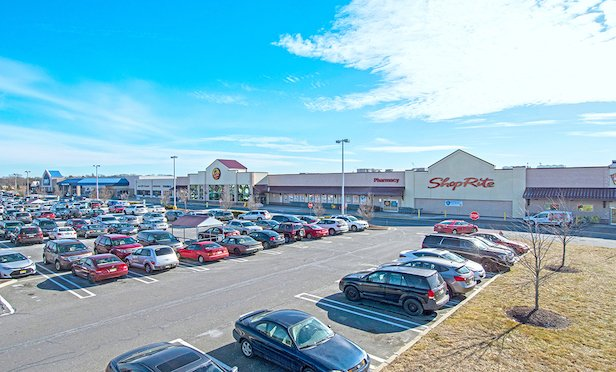The nearly 100,000-square-foot shopping center is located approximately 20 miles from Philadelphia.