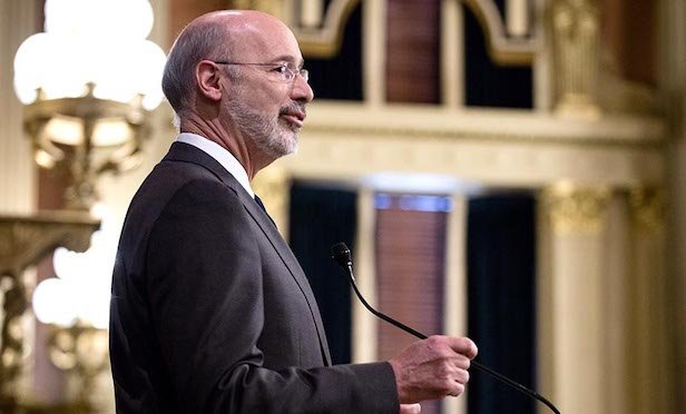 Pennsylvania Gov. Tom Wolf delivered his 2020 budget address to a joint session of the general assembly in Harrisburg on Tuesday.