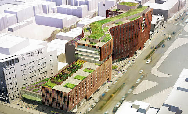 The Viola will total approximately 432,000 square feet of mixed-use space.