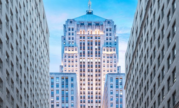 141 W. Jackson, also known as the Chicago Board of Trade Building.