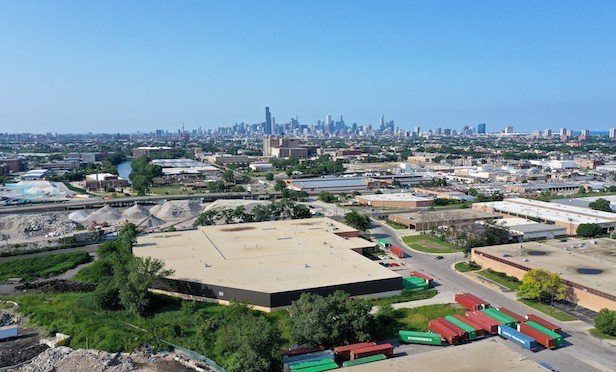 4000 South Racine Ave. in Chicago totals 140,792 square feet.