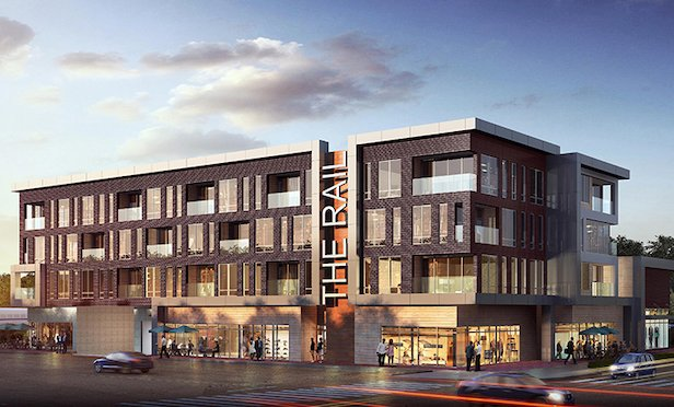 The Rail @ Red Bank will feature 57 luxury units.