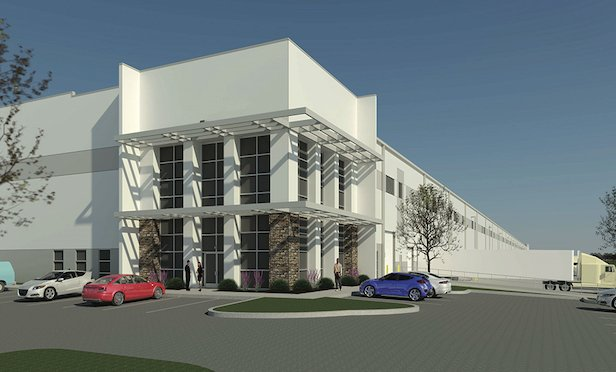 Phase one of the Park 100 Logistics Center in Allentown, PA.