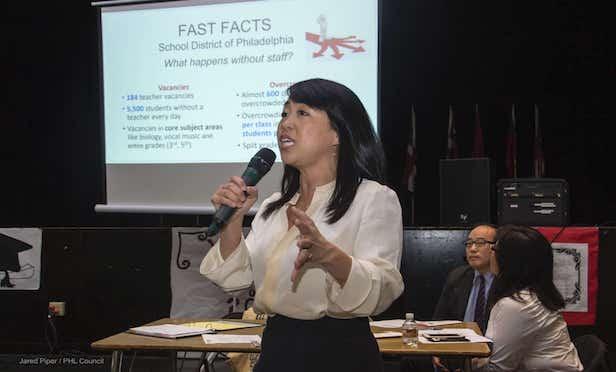 PA Councilwoman Helen Gym