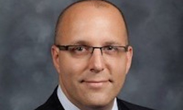 Rick Zack, newly appointed director of real estate management services for Avison Young New Jersey.