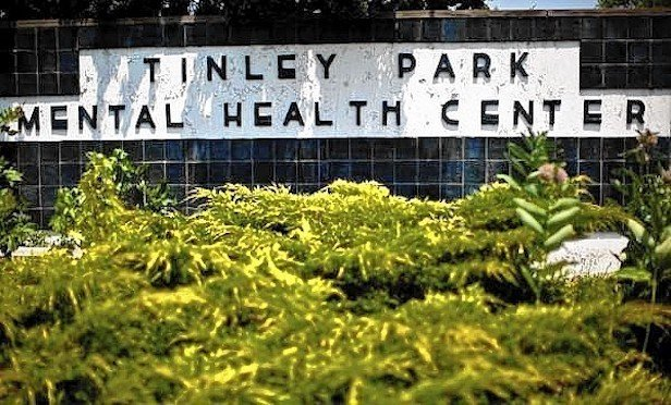 The Tinley Park Mental Health Center property was closed in July 2012.