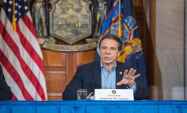 New York Gov. Andrew Cuomo has requested the Trump Administration deploy the U.S. Army Corps of Engineers to retrofit and equip existing facilities—such as military bases or college dormitories—to serve as temporary medical centers.