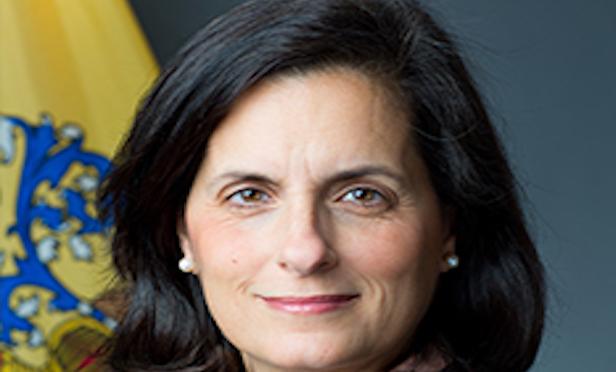 New Jersey State Treasurer Elizabeth Maher Muoio