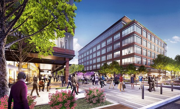 One of the largest lease deals signed in the first quarter in New Jersey was Deloitte's 110,000-square-foot lease at the proposed M Station redevelopment project in Downtown Morristown, NJ.