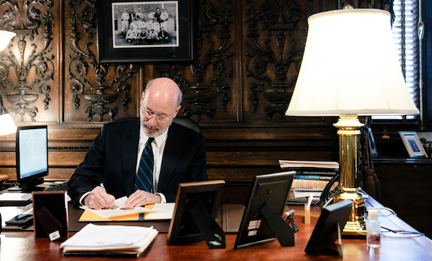 Pennsylvania Gov. Tom Wolf signed Senate Bill 841 on Monday.
