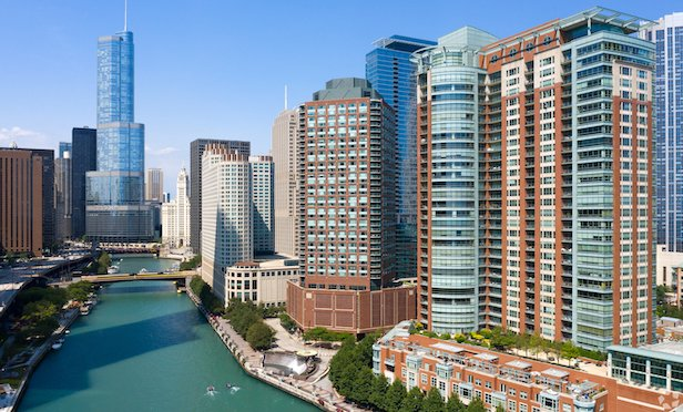 Cityfront Place is a Class-A, 39-story 480-unit waterfront high rise located along the Chicago River.