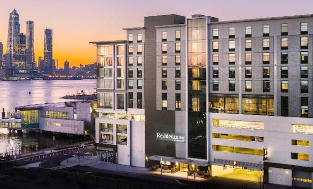 Mack-Cali Realty Corp. has donated 32 hotel rooms, meals, and parking at the Residence Inn Weehawken Port Imperial.