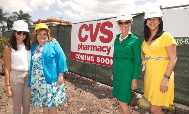 Hines hired High Street Retail to find a tenant for the corner of 87th and Doral Boulevard. High Street's Sharon Dresser bought CVS to the table.