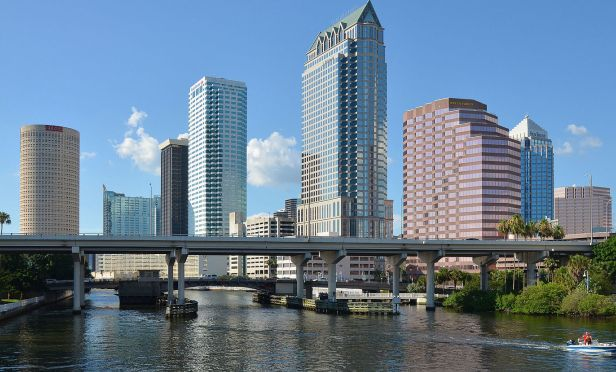 Downtown Tampa is seeing strong activity.