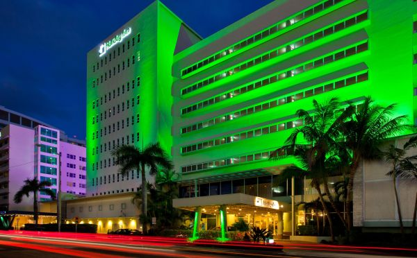 Located at 4333 Collins Avenue in Miami Beach, the Holiday Inn Miami Beach Oceanfront is an eight-story hotel with 253 rooms.